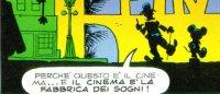 finale di una storia sul cinema disegnata da Cavazzano