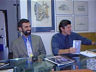 Alberto Arato e Gianfranco Gritella