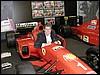 Silver pilota Ferrari...