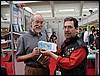 Don Rosa, Anonima Fumetti's honour member, in Torino, Italy - photo Goria