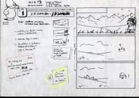 Pagina 1, lo storyboard di Goria