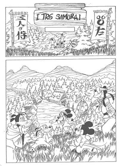 Goria & Sciarrone - omaggio a I Sette Samurai - click per ingrandire