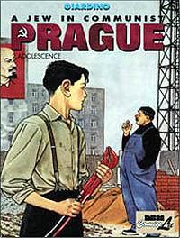 l'adolescente Jonas Fink nel secondo episodio della serie di Vittorio Giardino ambientata a Praga, nell'edizione USA