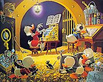 Spoiling the concert, by Carl Barks - imgcollection Goria