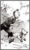 omaggio di Enki Bilal a Tintin