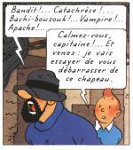 Tintin (c) Hergé - Moulinsart. Scan by Goria