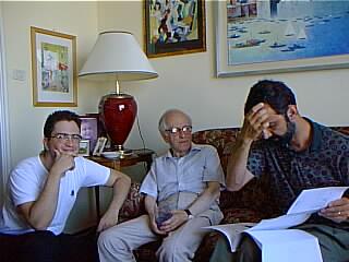Paolo, GB Carpi, Alberto Arato al lavoro in casa Carpi.