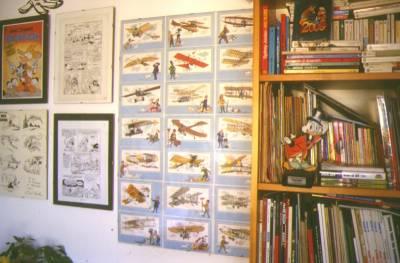 Una delle tante pareti di una casa di collezionista... qui quella di G.Goria