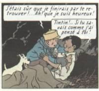 Chang in Tintin in Tibet. (c) Hergé.