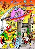 Il manifesto di Bottaro con omaggio Rebbuffiano (il piccolo robot in basso...). Click per ingrandire.