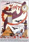 Il duro lavoro del fumettista secondo Jacobs, 1953... zoom in
