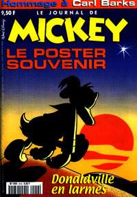 Le Journal de Mickey onora Carl Barks...